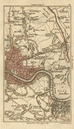 EAST END Hackney Hoxton Stratford Bow City Bermondsey Isle of Dogs CARY 1786 map